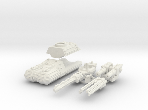 MG144-HE002C Turma Multirole Vehicle (Medium Tank) 3d printed