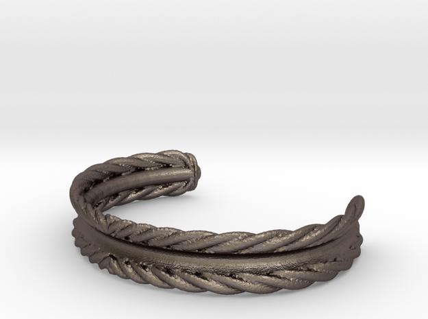 Hair Tie Bracelet in Stainless Steel