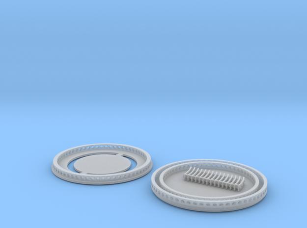 Quick Connection mit Verriegelungsbolzen für Herpa in Smooth Fine Detail Plastic