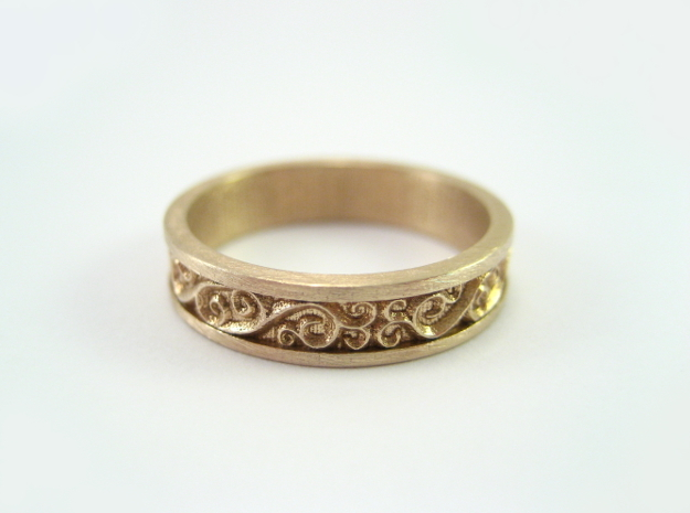 Harmony Ring in Natural Bronze