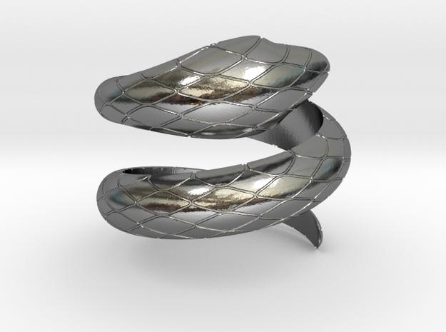 Nefertiti Ring in Polished Silver