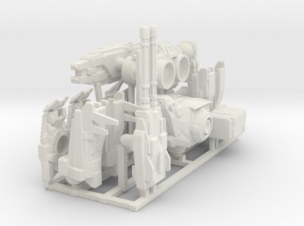Big mech  in White Natural Versatile Plastic