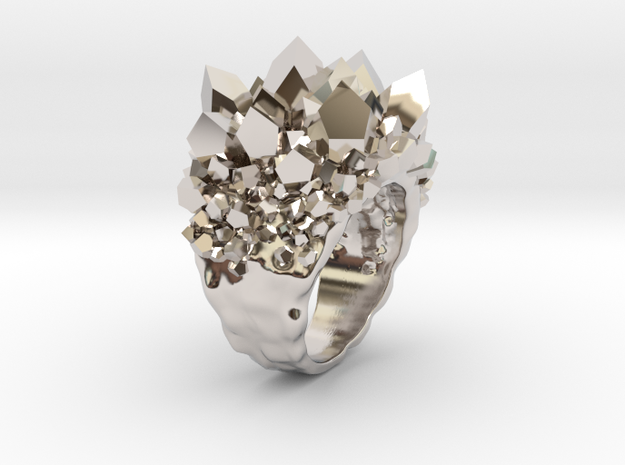 Double Crystal Ring Size 10