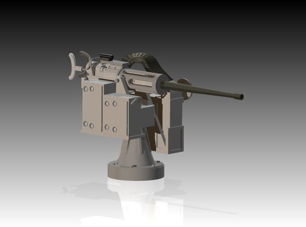 25mm Cannon kit x 1 - 1/35