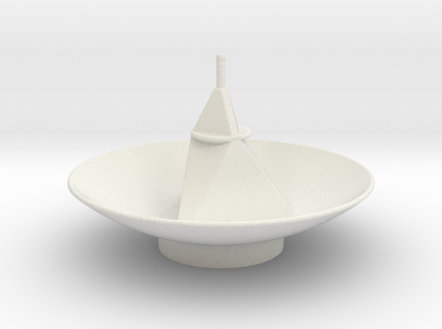 New Horizon's Antenna in White Strong & Flexible