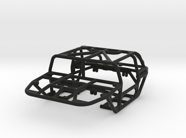 Scorpion 1/24th scale rock crawler chassis in Black Natural Versatile Plastic