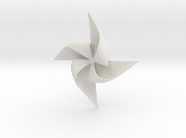 PINWHEEL-ghg in White Natural Versatile Plastic