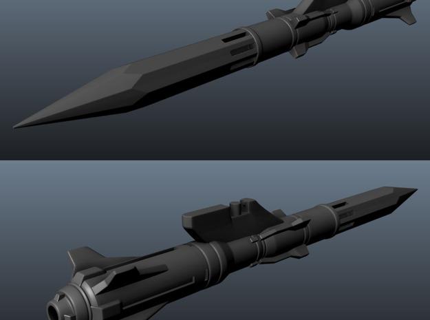 'Anti-Vajra' Missile x4 - YAMATO 3d printed