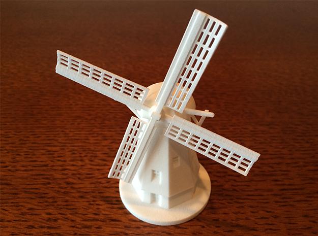 Dutch Windmill 3d printed