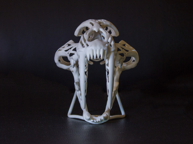 Saber Tooth Stylised 3d printed