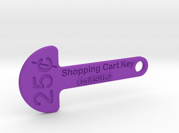 Quarter Shopping Cart Key