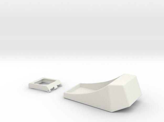 Rangefinder Casing & Viewfinder in White Natural Versatile Plastic