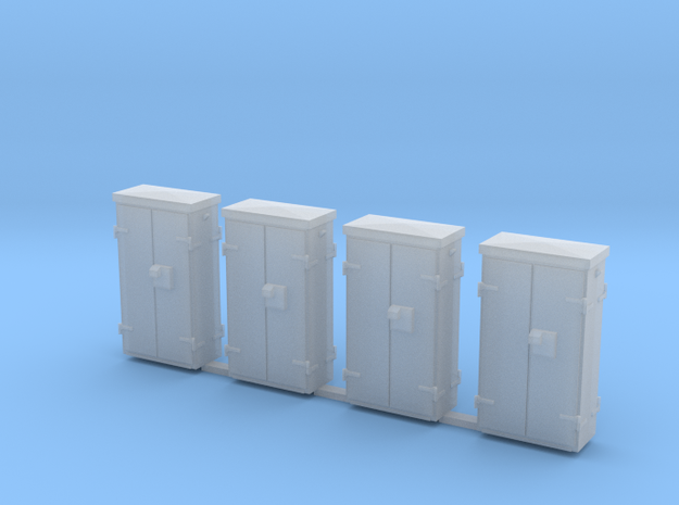 OO Gauge Location Cabinets in Smoothest Fine Detail Plastic