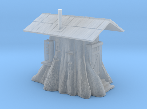 Stump Shack - N Scale in Smooth Fine Detail Plastic