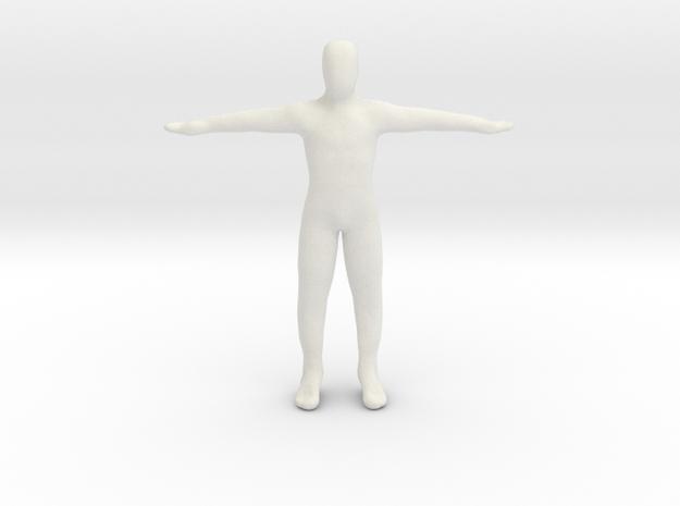 Dummy body in White Natural Versatile Plastic