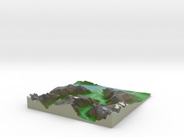 Terrafab generated model Fri Jul 17 2015 01:34:51  in Full Color Sandstone