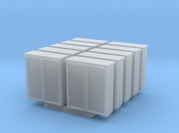 Relay Box - set of 10 - HOscale in Smooth Fine Detail Plastic