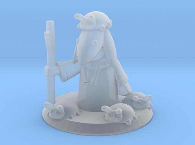 Ladybug Mage with Base (16mm) 3d printed