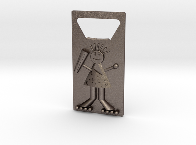 Bottle Opener (Cave Man) in Stainless Steel