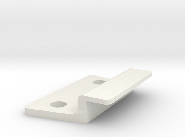 Rocketeer Buckle - Lock Cover in White Strong & Flexible