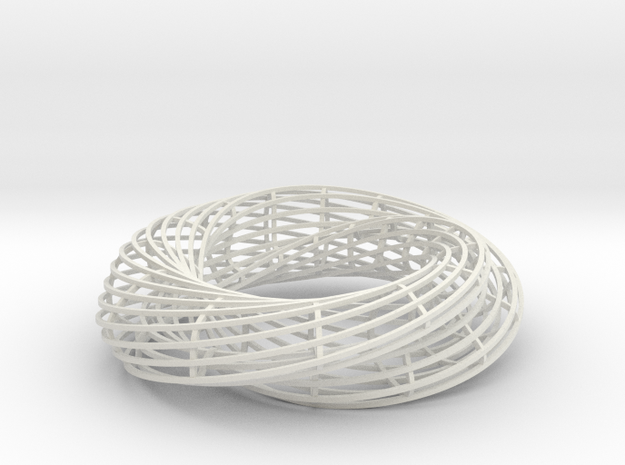MOBIUS MESH in White Strong & Flexible