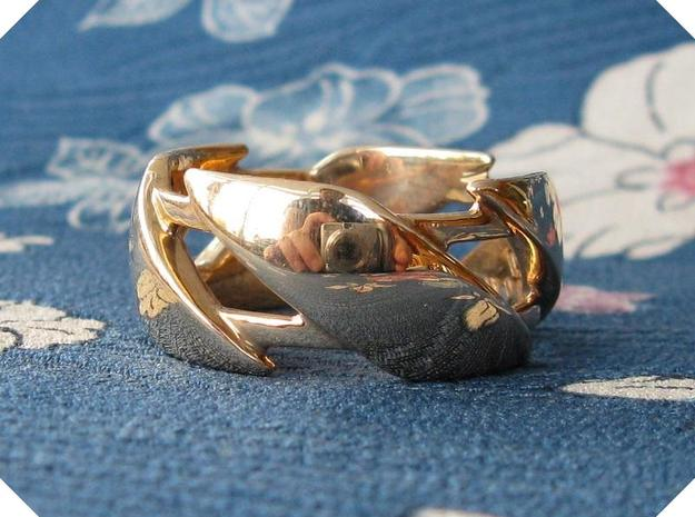 US7 Ring III in Polished Bronze