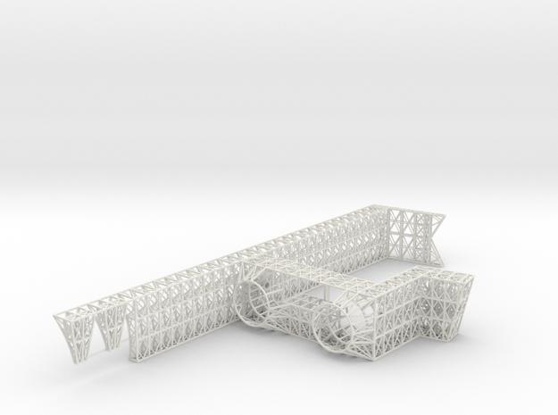 Stern Core Port V0.2b in White Strong & Flexible