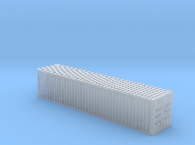 1/450 Container 40ftx1 in Smooth Fine Detail Plastic