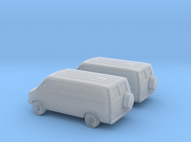 1/160 2X 1976 Dodge Van