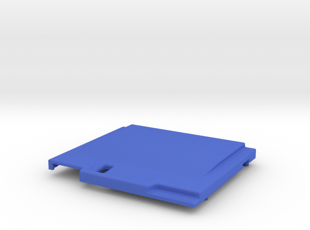 TED V2 DUO Style Shell in Blue Processed Versatile Plastic