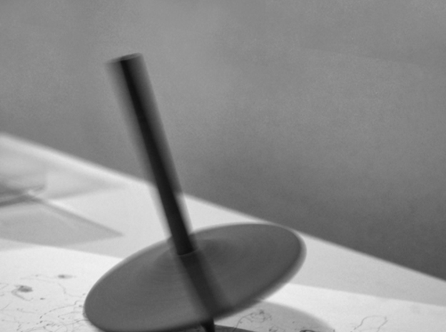 Spinning Top pencil IKEA - Gyroscope   in Black Natural Versatile Plastic