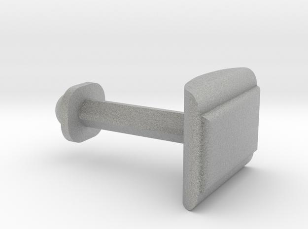 Customize this cufflink   in Metallic Plastic