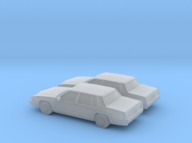 1/160 2X 1992 Cadillac Deville in Smooth Fine Detail Plastic