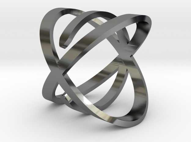 'So Close' Ring in Premium Silver