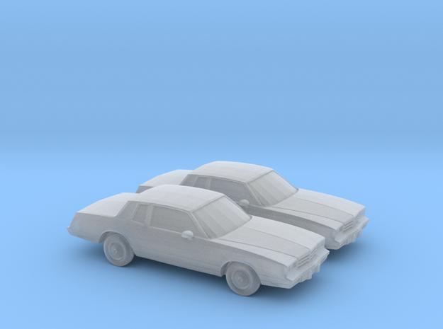 1/160 2X 1983 Chevrolet Monte Carlo
