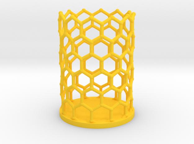 Pencilcup nanocarbon in Yellow Processed Versatile Plastic