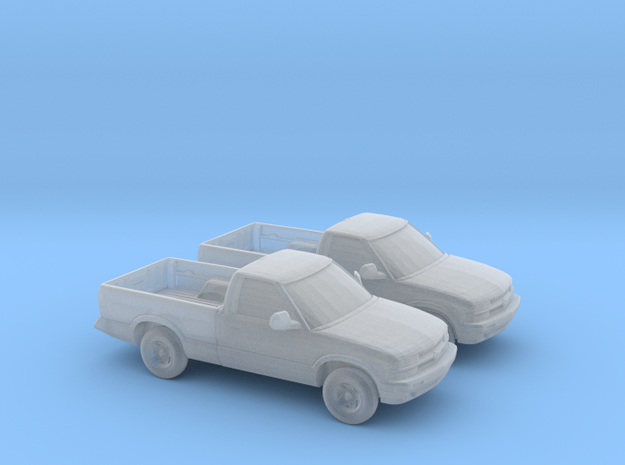 1/160 2X 1997-04 Chevrolet S 10 in Smooth Fine Detail Plastic