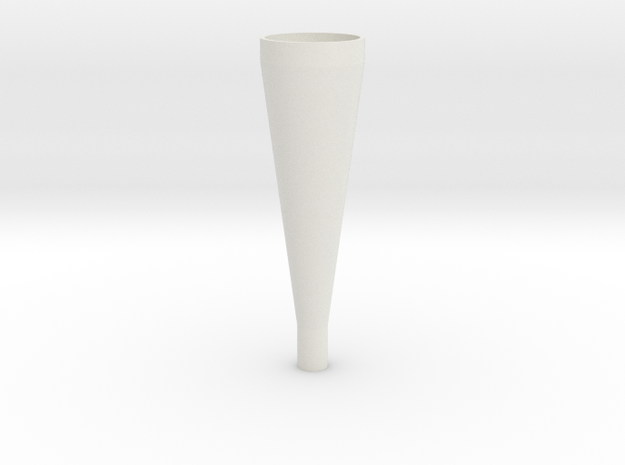 conical horn in White Strong & Flexible