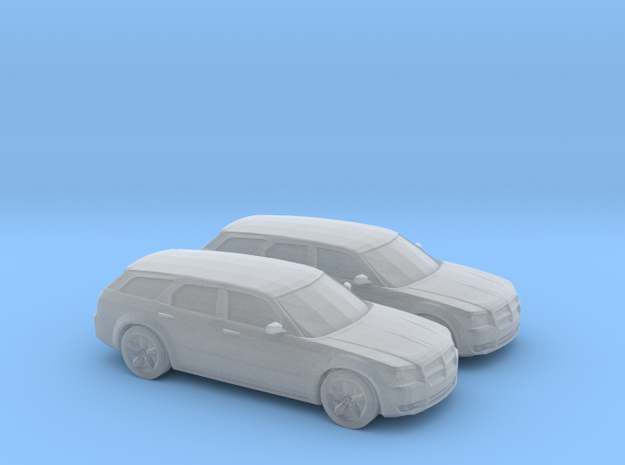 1/160 2X 2008 Dodge Magnum RT in Frosted Ultra Detail