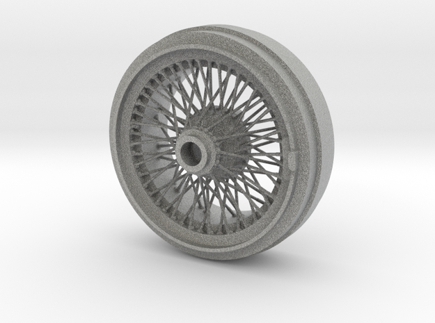 1/8 Wire Wheel Rear, with 72 spokes 3d printed