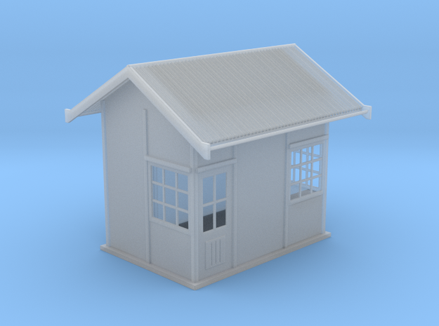 1929 point lever relay hut HO scale