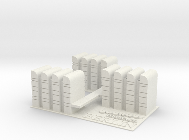 Bauhaus Export in White Strong & Flexible