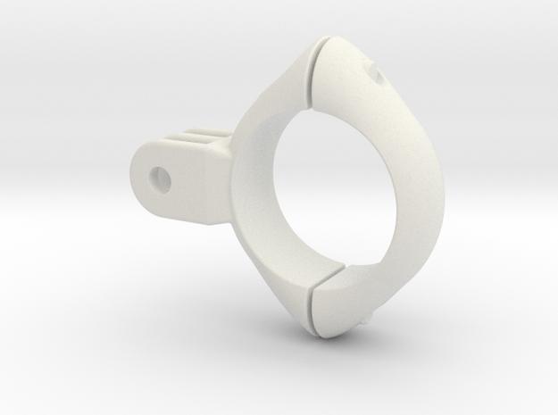 Clamp 6 in White Natural Versatile Plastic