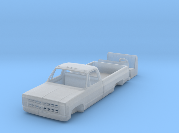 1/64 1980's Chevy K20 / K30 pickup truck body with