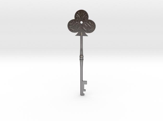 Resident Evil 2: Club key in Polished Nickel Steel