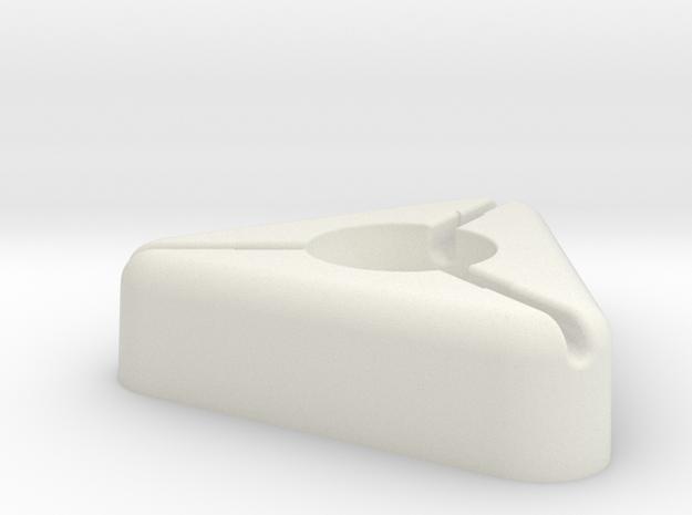 Tripuck Holder in White Strong & Flexible