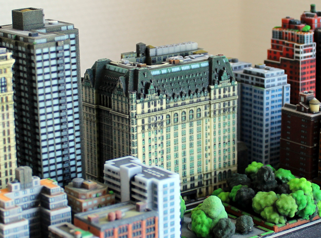 New York Plaza Hotel 8x4