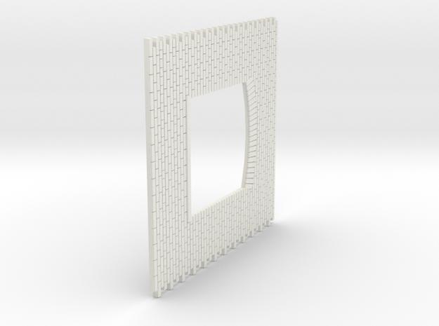 A-nori-bricks-window-sheet-1a in White Natural Versatile Plastic