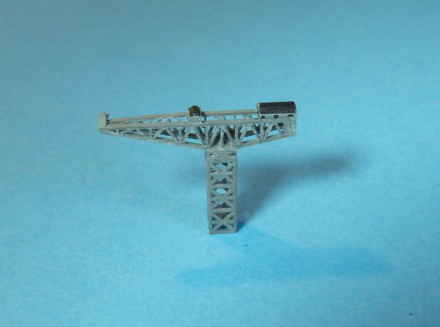 HAMMERKRAN, dockside crane 1/2400 in Smooth Fine Detail Plastic