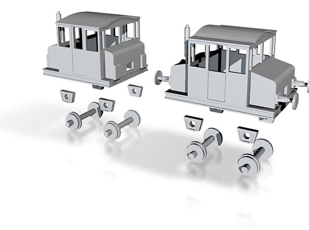 N Scale Skifte Tractor 3d printed